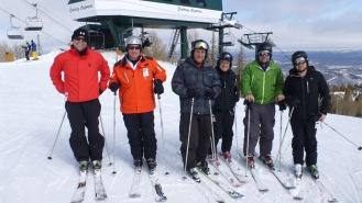 Deer Valley guys Ski trip 2013 87