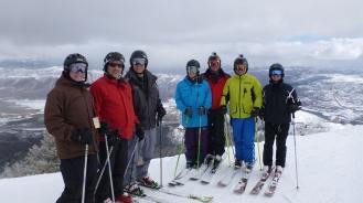 Deer Valley guys Ski trip 2014 115