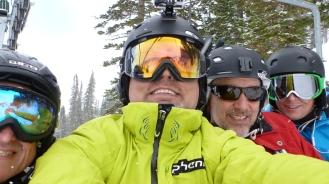 Deer Valley guys Ski trip 2014 123