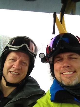 Doug and Patrick
